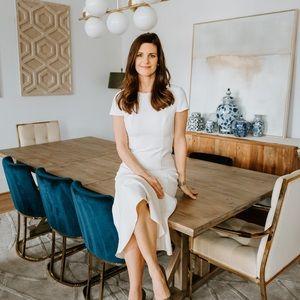 Amanda Uprichard ivory dress